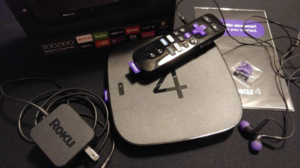 Roku 4 Streaming Device First Take Review